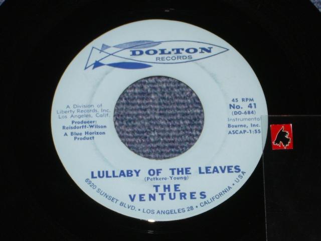 画像1:  LULLABY OF THE LEAVES / GINCHY  Glossy  Light Blue Label