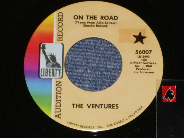 画像1: 56007 ON THE ROAD / MIRRORS AND SHADOWS    Audition Label