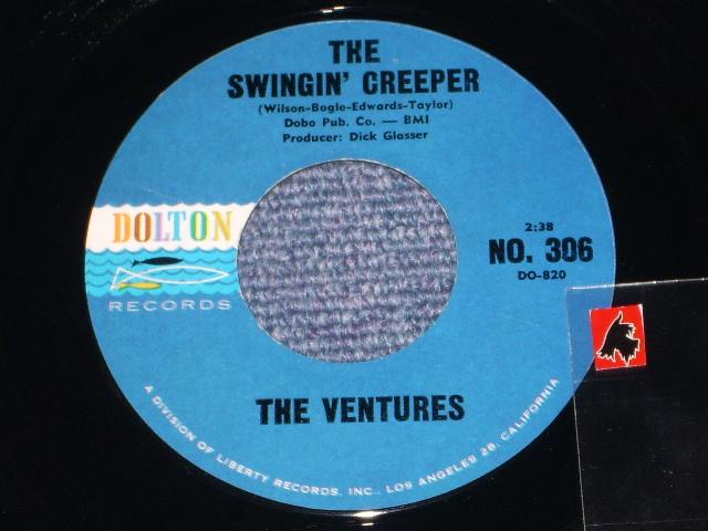 画像1: THE SWINGIN' CREEPER / PEDAL PUSHER    DARK BLUE With BLACK  PRINT LABEL