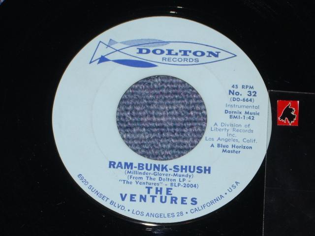 画像1: RAM-BUNK-SHUSH / LONELY HEART  1st Press  Light Blue Label