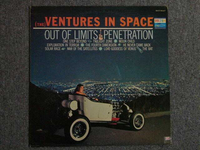 """画像1: (THE)VENTURES IN SPACE """"D"""" MARK LABEL"""