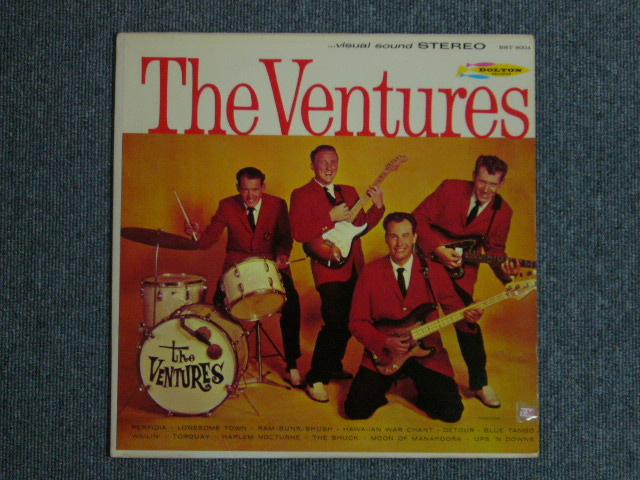 画像1: THE VENTURES    DARK BLUE W/SILVER PRINT LABEL
