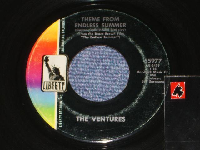 """画像1: 55977 THEME FROM """"ENDLESS SUMMER"""" / STRAWBERRY FIELDS FOREVER"""