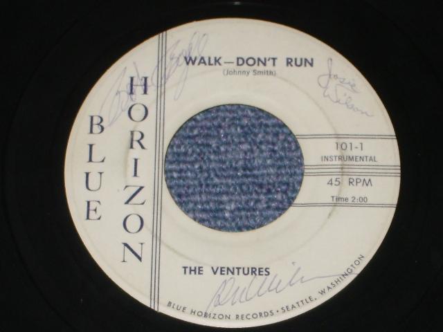 画像1: WALK-DON'T RUN / HOME With AUTO GRAPHED SIGNED