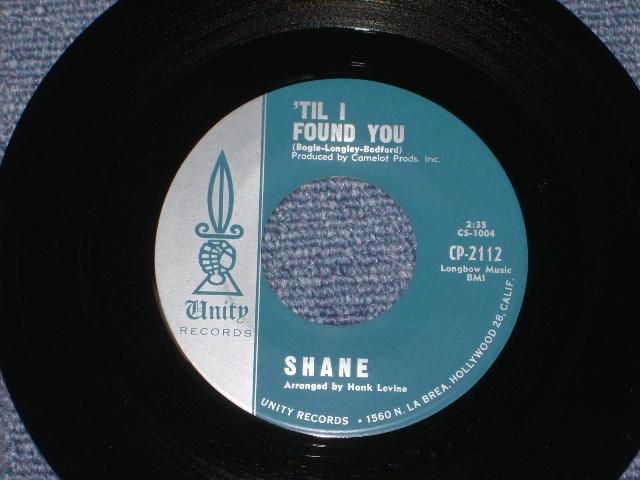 画像1:  SHANE ( BOB BOGLE of THE VENTURES ) -'TIL I FOUND YOU /  ON A NIGHT LIKE THIS 1964?  US ORIGINAL MOSS GREEN Label