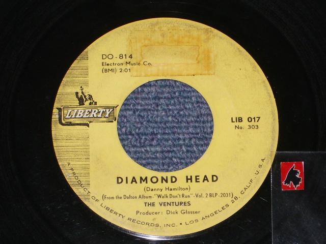 画像1: DIAMOND HEAD / LONELY GIRL   HONG KONG  PRESSINGS