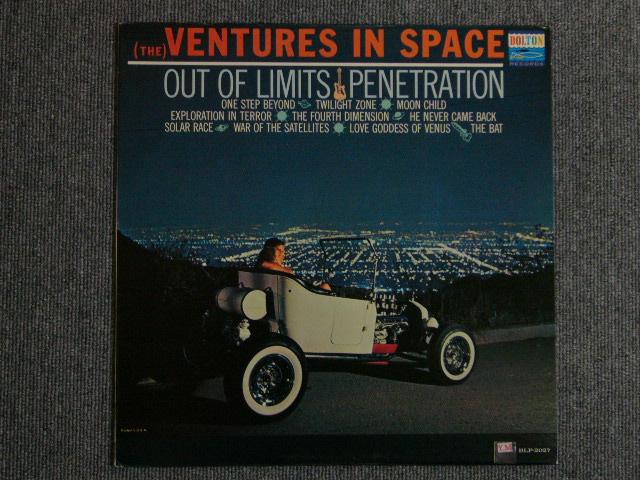画像1: (THE)VENTURES IN SPACE  DARK BLUE W/SILVER PRINT LABEL