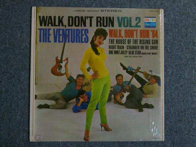 画像1: WALK, DON'T RUN VOL.2 (1st Jacket)Dark Blue With/Silver Print Label