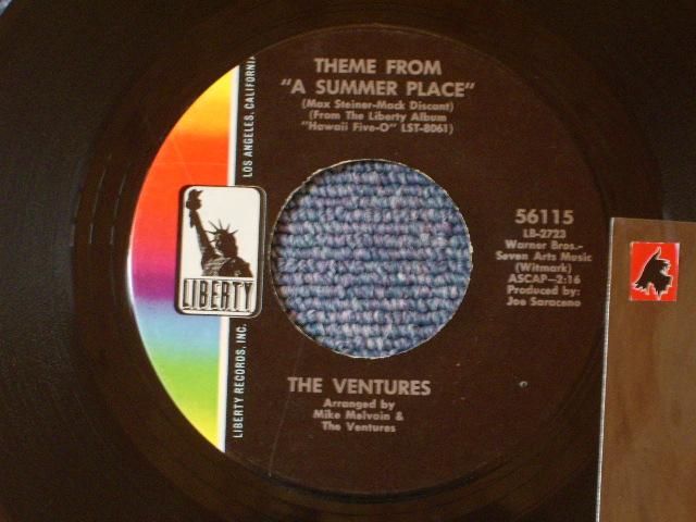 画像1: 56115 THEME FROM A SUMMER PLACE / A SUMMER LOVE