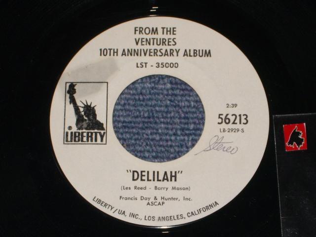 画像1: DELILAH : MONO / STEREO   Promo Only Coupling