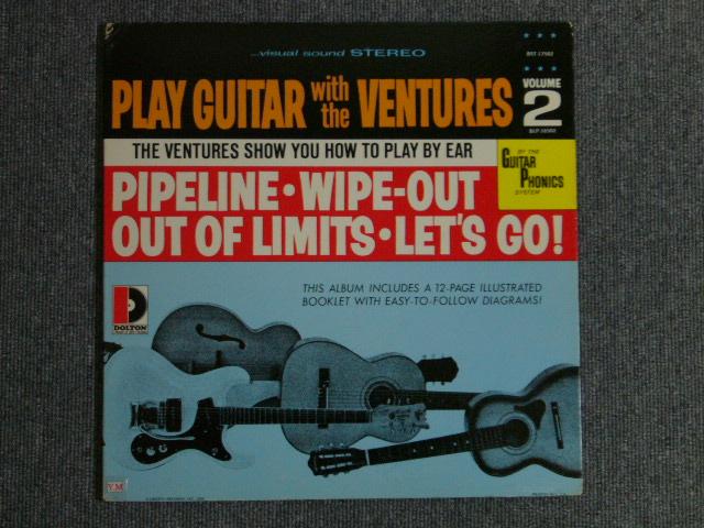 画像1: PLAY GUITAR WITH THE VENTURES Volume 2 70s Liberty Label