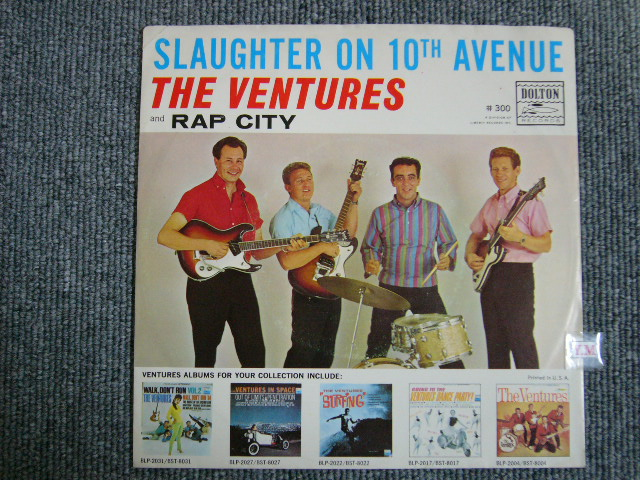 画像1: SLAUGHTER ON TENTH AVENUE / RAP CITY  With Picture Sleeve and White Label Promo