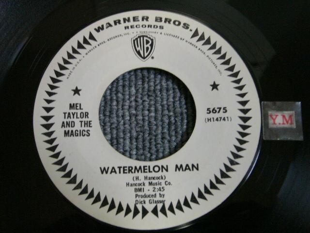 画像1: MEL TAYLOR - WATERMELON MAN / BULLSEYE US ORIGINAL WHITE LABEKL PROMO