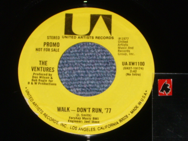 画像1: WALK DON'T RUN '77 / WALK DON'T RUN '77   Promo Only Same Flip Mono/Stereo & YELLOW/WHITE VERSION Label