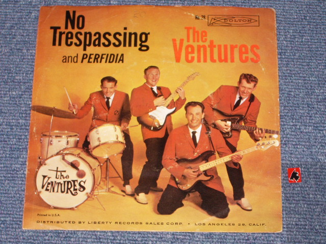 画像1: PERFIDIA / NO TRESPASSING  WITH PICTURE SLEEVE  1st Press   LIGHT BLUE LABEL
