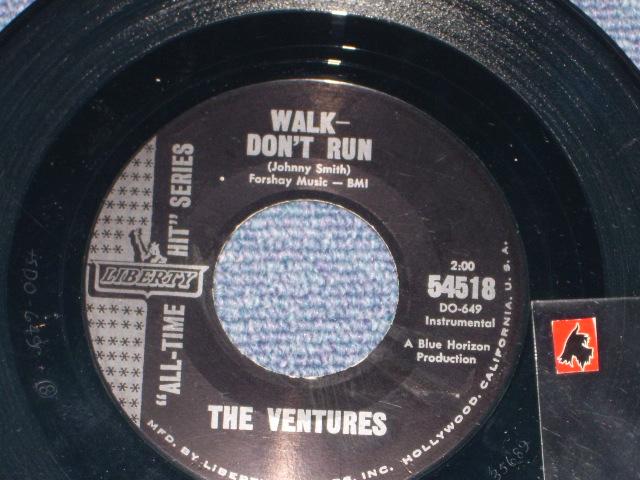 """画像1: 54518 WALK-DON'T RUN / RAM-BUNK-SHUSH   """"Old Style 'LIBERTY' Mark"""""""