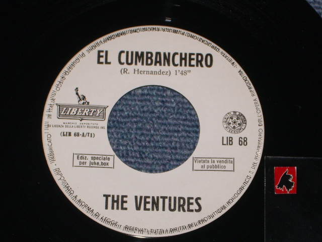 画像1: EL CUMBANCHERO / SKIP TO M' LIMBO   ITALIAN Pressings White Label Promo