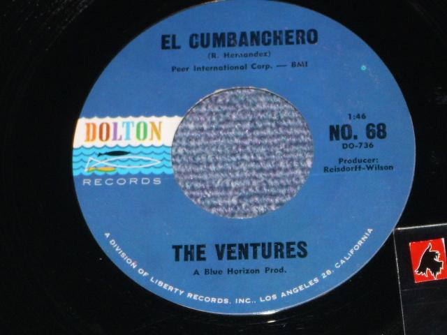画像1: EL CUMBANCHERO / SKIP TO M' LIMBO Drak Blue With Black Print Label