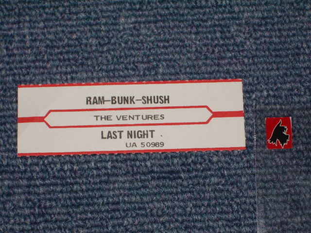 画像1:  LAST NIGHT / RAM-BUNK-SHUSH   JukeBox Stripe