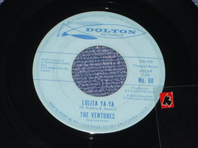 画像1: LOLITA YA-YA / LUCILLE   Light Blue Label With 2 Horizon Line