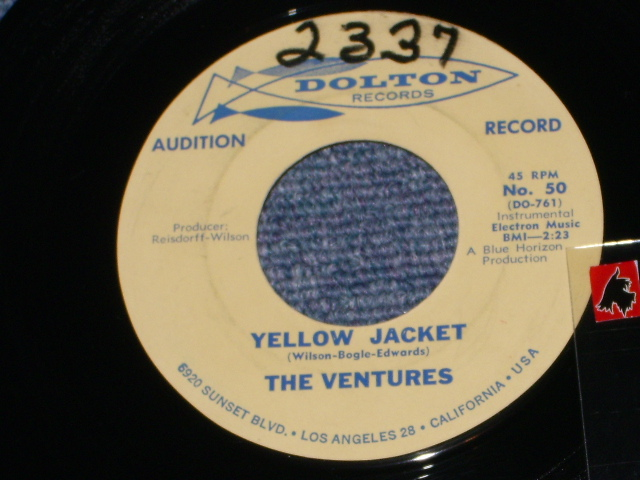 画像1: YELLOW JACKET / GENESIS  Promo Audition Label