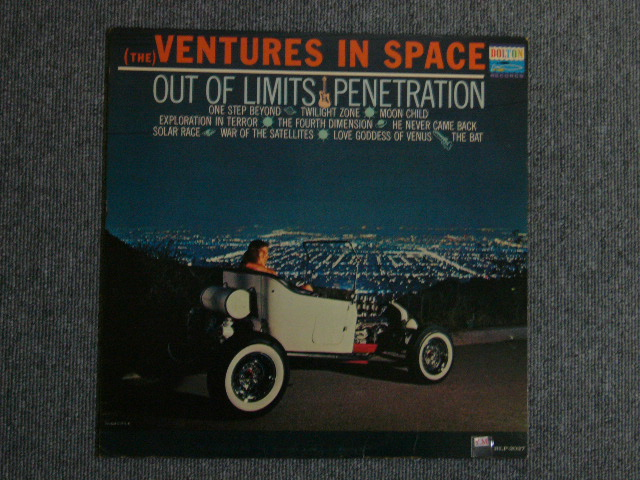 画像1: (THE)VENTURES IN SPACE  DARK BLUE W/SILVER PRINT LABEL