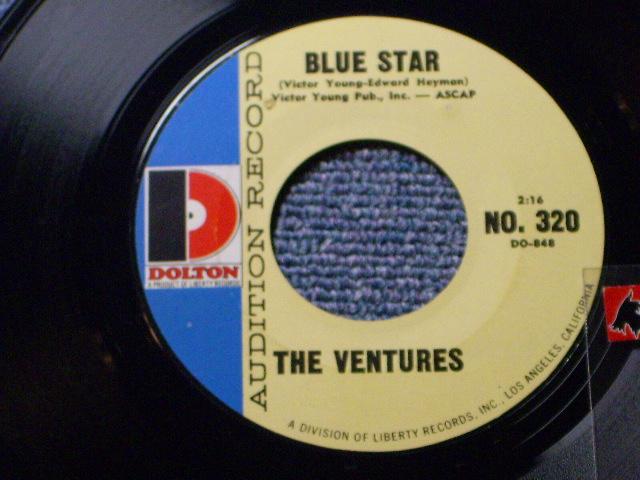 """画像1: BLUE STAR / COMIN' HOME BABY   Audition Label by """"D"""" Mark Style"""