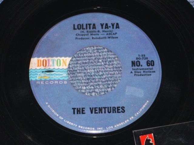 画像1: LOLITA YA-YA / LUCILLE   Dark Blue With Black Print Label