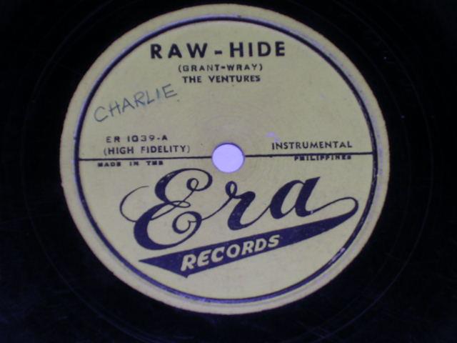 画像1: RAW-HIDE / TRAMBONE  - PHILLIPPINESORIGINAL 78rpm SP