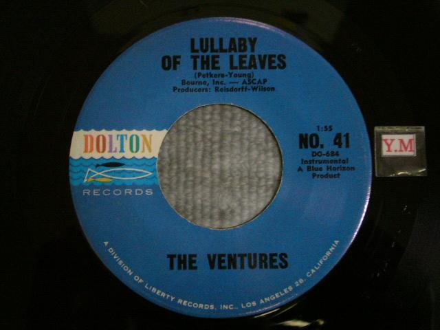 画像1: LULLABY OF THE LEAVES / GINCHY Blue With Black Print Label