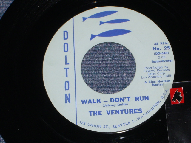 画像1: WALK-DON'T RUN / HOME     LIGHT BLUE LABEL