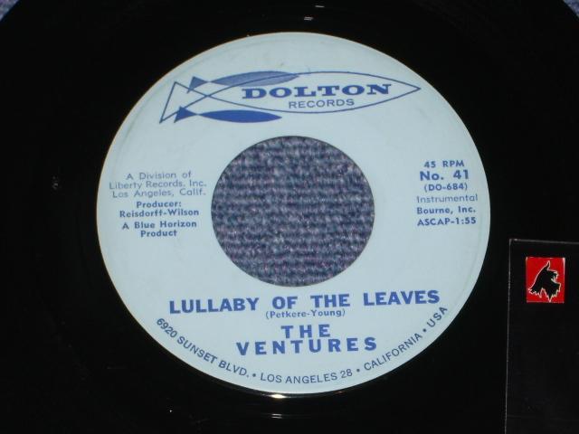 画像1:  LULLABY OF THE LEAVES / GINCHY  Light Blue Label