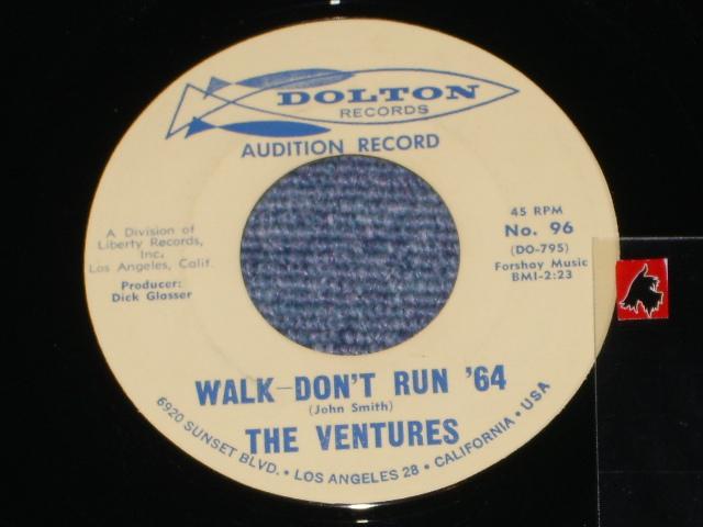 画像1:  WALK, DON'T RUN '64 / THE CRUEL SEA    Audition  Label