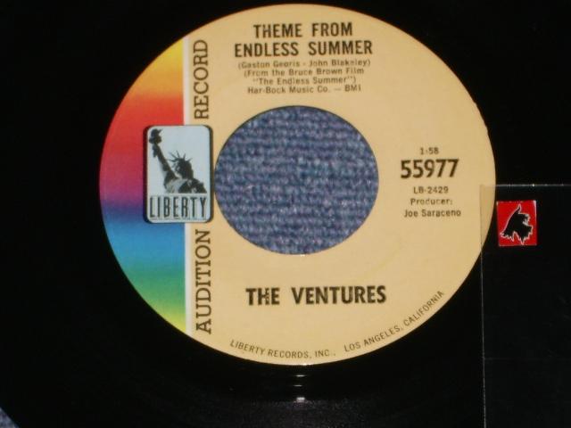 """画像1: 55977 THEME FROM """"ENDLESS SUMMER"""" / STRAWBERRY FIELDS FOREVER   Audition Label"""