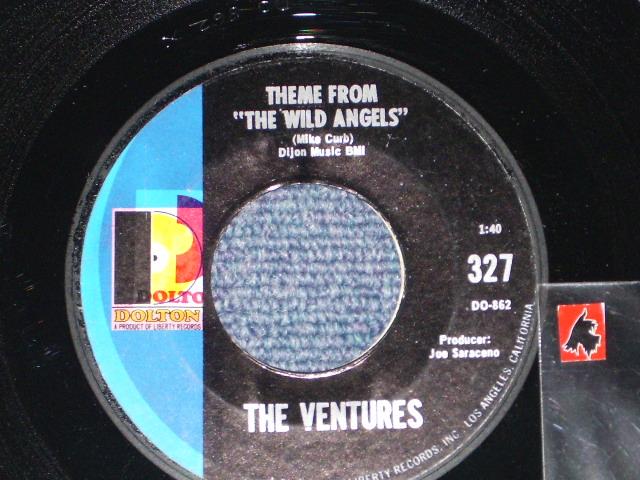 """画像1: THEME FROM """"THE WILD ANGELS"""" / KICKSTAND  Miss Press""""D""""mark on LEFT Label"""