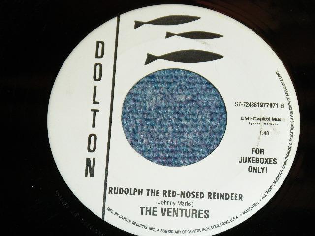 画像1: A) JAN & DEAN - FROSTY ( THE SNOW MAN ) : B) THE VENTURES - RUDOLPH THE RED-NOSED REINDEER : US FOR JUKEBOXES ONLY