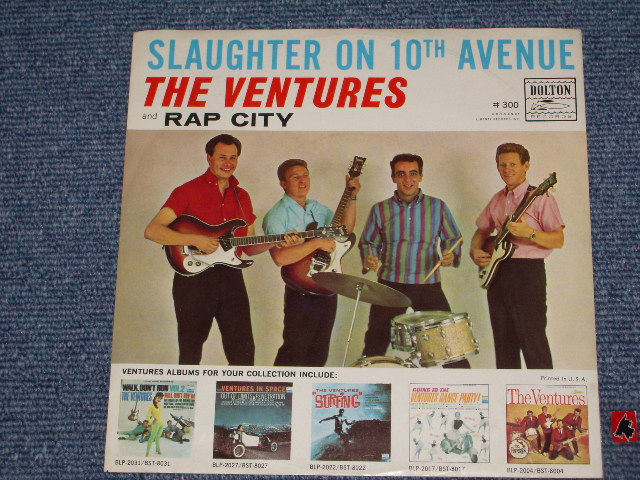 画像1: SLAUGHTER ON TENTH AVENUE / RAP CITY  WITH PICTURE SLEEVE   AUDITION  LABEL PROMO
