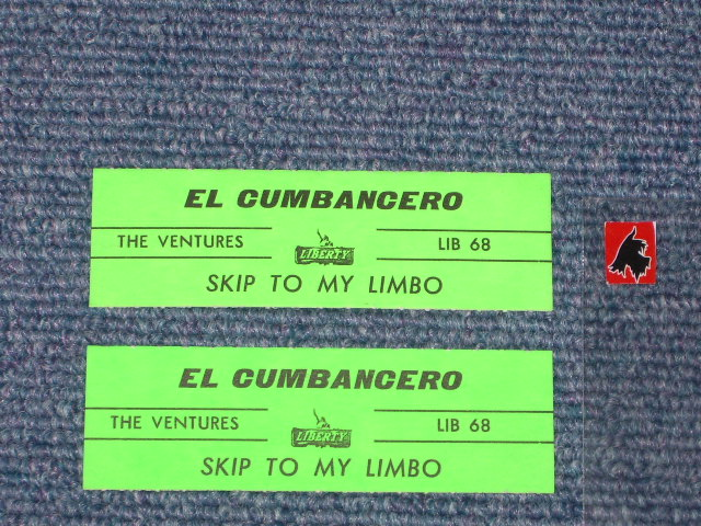 画像1: EL CUMBANCHERO / SKIP TO M' LIMBO  JUKEBOX STRIPE  ITALIAN Pressings