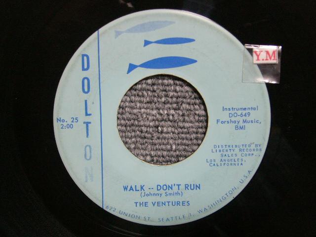 画像1: WALK-DON'T RUN / THE McCOY LIGHT BLUE LABEL