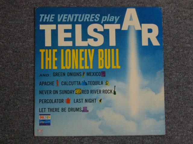 画像1: THE VENTURES PLAY TELSTAR ・THE LONELY BULL DARK BLUE W/SILVER PRINT LABEL