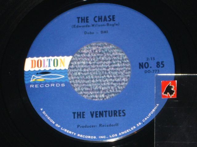 画像1: THE CHASE / THE SAVAGE   Dark BlueWith Black Print  Label