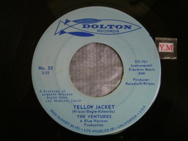 画像1: YELLOW JACKET / GENESIS  Light Blue Label