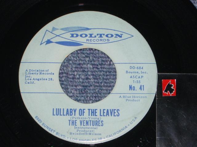 画像1:  LULLABY OF THE LEAVES / GINCHY   Light Blue Label  With HORIZON LINE