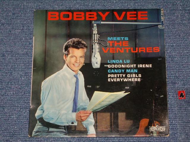 画像1: BOBBY VEE NEETS THE VENTURES / FRENCH 60s ORIGINAL PRESSINGS EL With Picture Sleeve